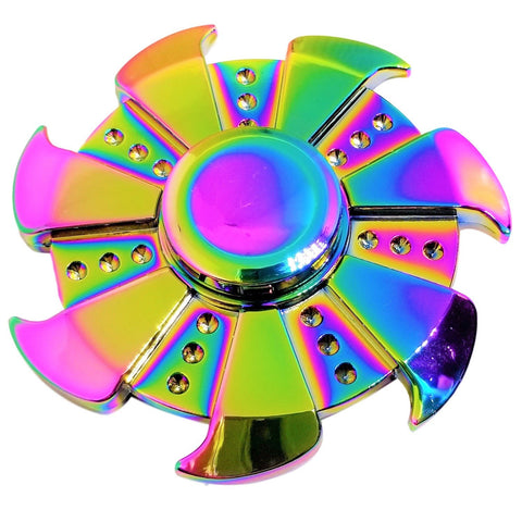 Rainbow (Anodized) - Turbine High Performance Stainless Steel Ball Center Bearing