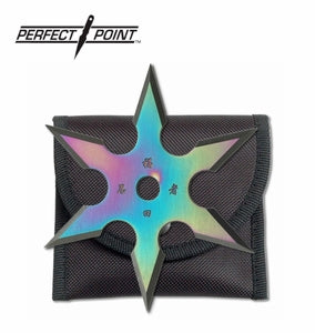 "Perfect Point ""Tengu Star"" Professional Six Point Shuriken"