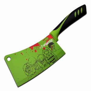 Cleaver w/ Zombie Illustrations