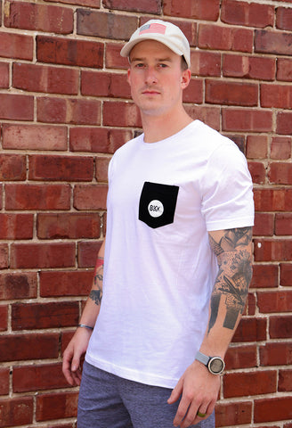 BKX White Pocket T-Shirt