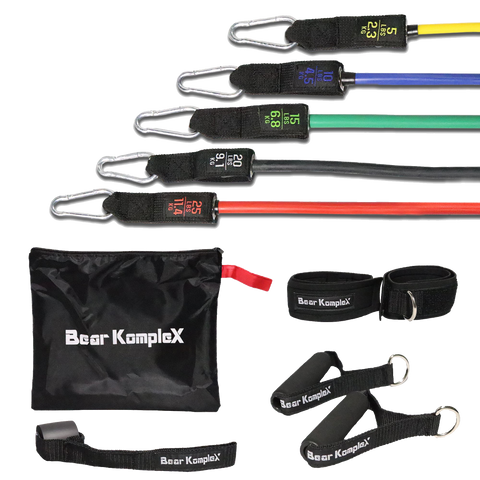 11 Piece Resistance Band Training Set