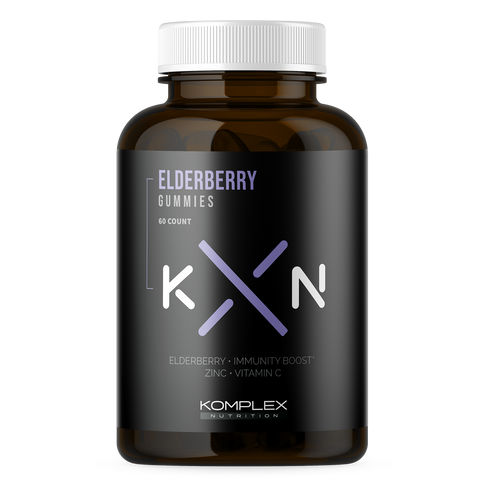 KompleX Nutrition Elderberry Gummies