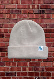 Light Stone Knit Beanie