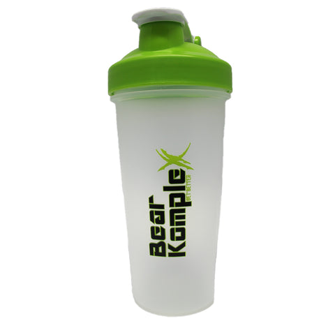 Green Shaker 28oz with loop top and BlenderBall
