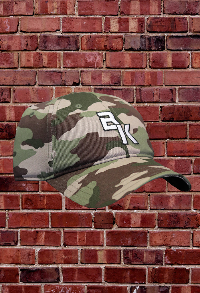 "NEW ""BK"" Camo Baseball Hat"