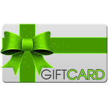 Gift Card ($5-$500 & FREE Shipping)