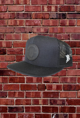 "Midnight Black ""BKX"" Hat by Branded Bills"