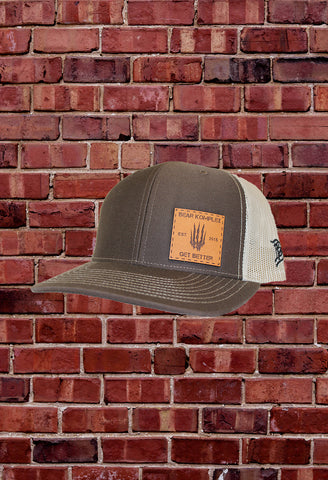 "Coyote Brown/Desert Tan ""BKX"" Hat By Branded Bills"