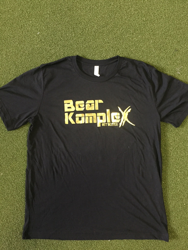 Black and Gold Shirt