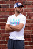 Bear KompleX Men's T-Shirt-White Miami Vice