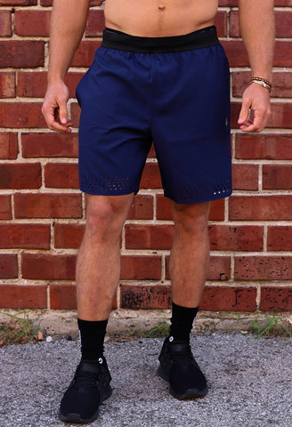 Navy Training Shorts