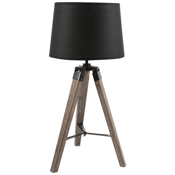 Classic Tripod Table Lamp - Small - Black - Industrial Lighting Studio