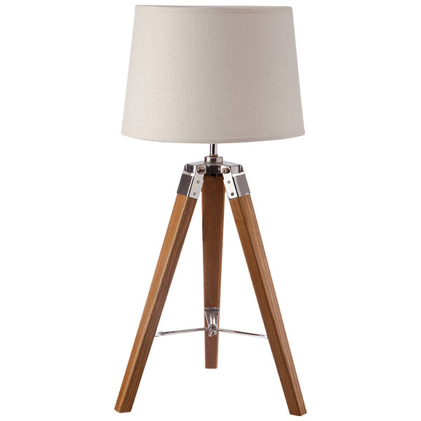 Classic Tripod Table Lamp - Small - Beige - Industrial Lighting Studio