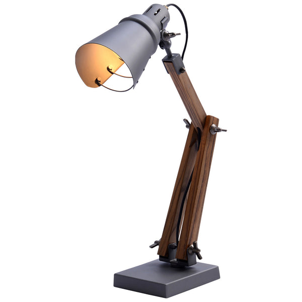 Gappy Table Lamp - Small - Grey - Industrial Lighting Studio