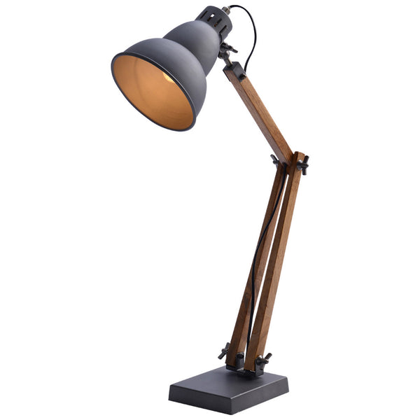 Gourd Table Lamp - Medium - Steel Grey - Industrial Lighting Studio