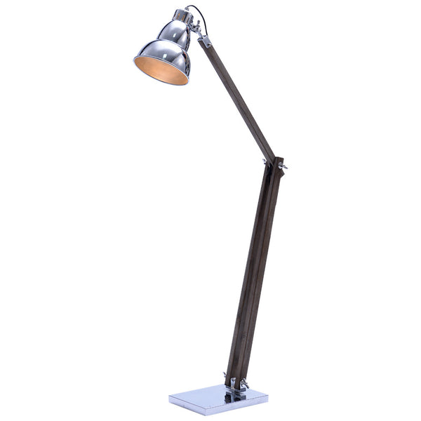 Gourd Floor Lamp - Large - Chrome - Industrial Lighting Studio