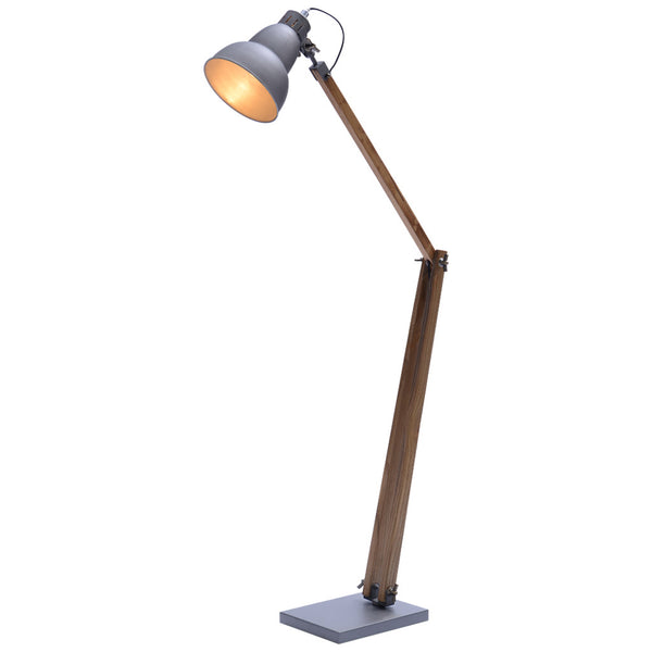 Gourd Floor Lamp - Large - Grey - Industrial Lighting Studio