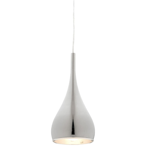 Aero Pendant Light - Chrome - Industrial Lighting Studio