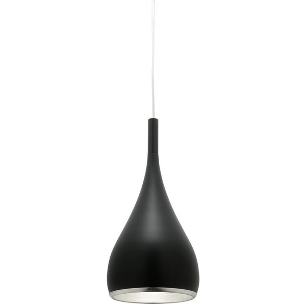 Aero Pendant Light - Matt Black - Industrial Lighting Studio