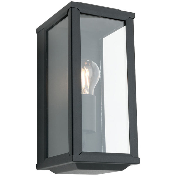 Anglesea Exterior Wall Lamp - Black - Industrial Lighting Studio
