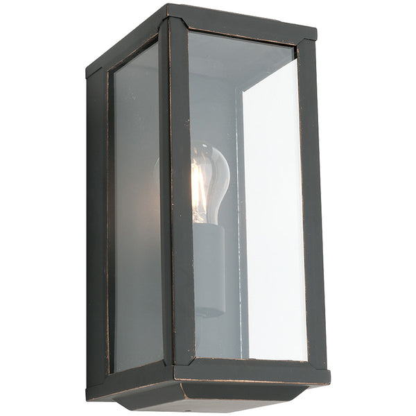Anglesea Exterior Wall Lamp - Bronze - Industrial Lighting Studio