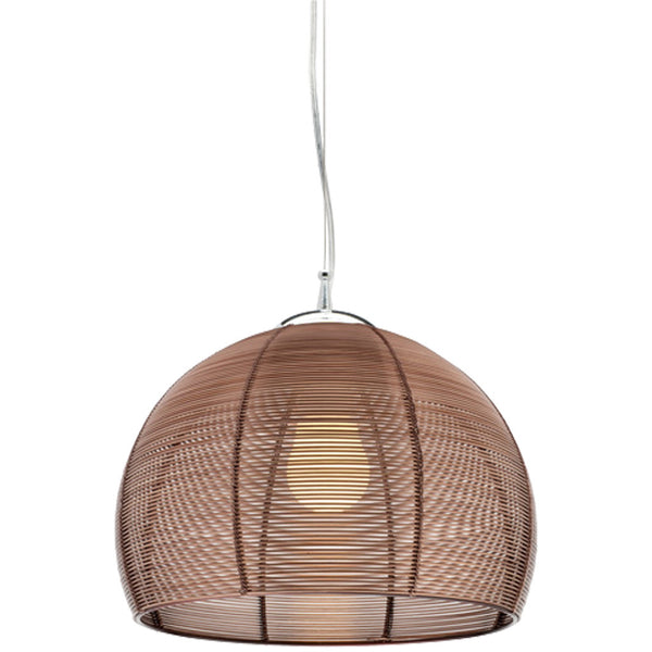 Arden 1 Bulb Pendant Light - Coffee - Industrial Lighting Studio