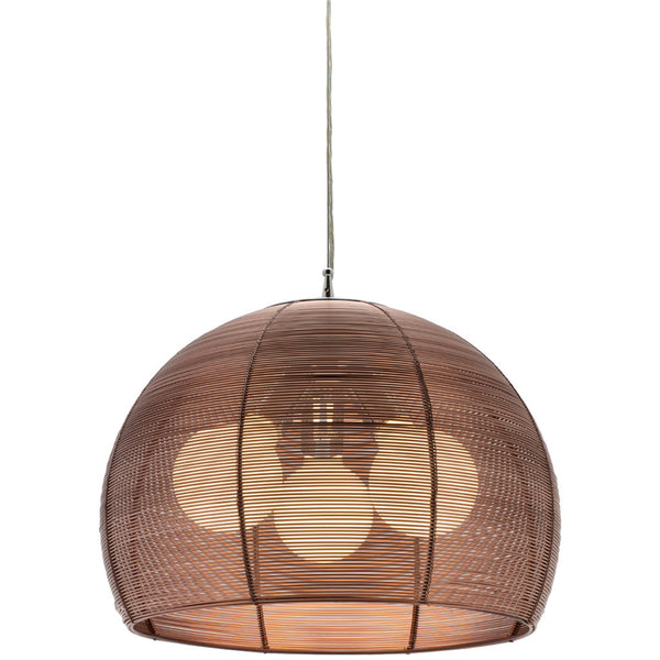 Arden 3 Bulb Pendant Light - Coffee - Industrial Lighting Studio