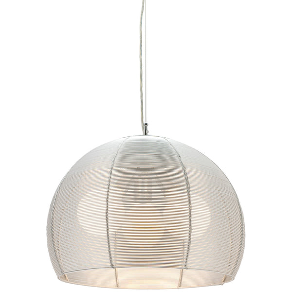 Arden 3 Bulb Pendant Light - Silver - Industrial Lighting Studio