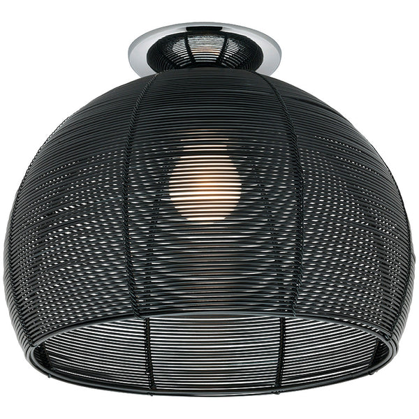 Arden Batten Fix Ceiling Light - Black - Industrial Lighting Studio