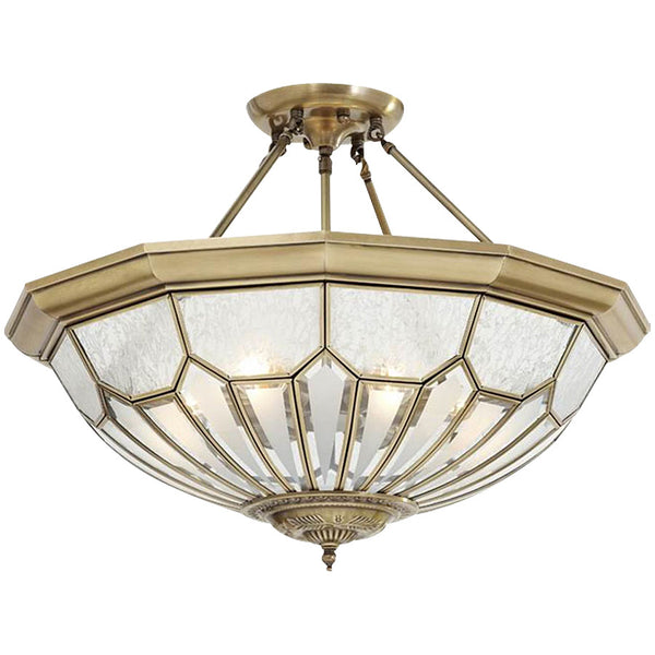 Citilux Botany Brass Chandelier - Industrial Lighting Studio