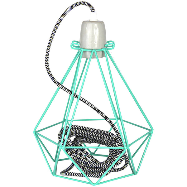 Diamond Pendant - Diamond Peppermint - Industrial Lighting Studio - 1