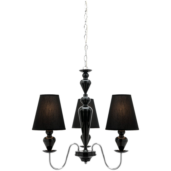 Carlington 3 Lamp Chandelier - Industrial Lighting Studio