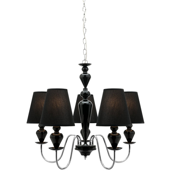 Carlington 5 Lamp Chandelier - Industrial Lighting Studio