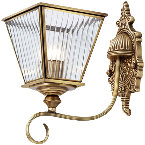 Citilux Chippendale Brass Wall Light - Industrial Lighting Studio
