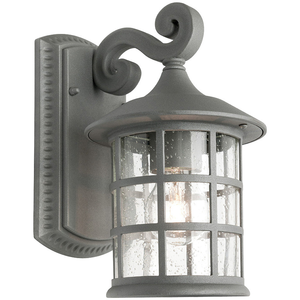 Industrial outdoor lamp - Coventry Exterior Light Pewter Small Industrial Lighting Studio