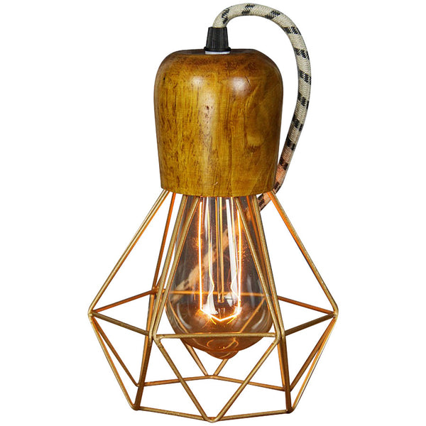 Woodsman Pendant - Bronze - Industrial Lighting Studio
