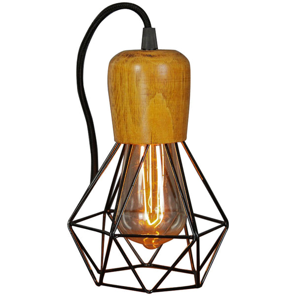 Woodsman Pendant - Black - Industrial Lighting Studio