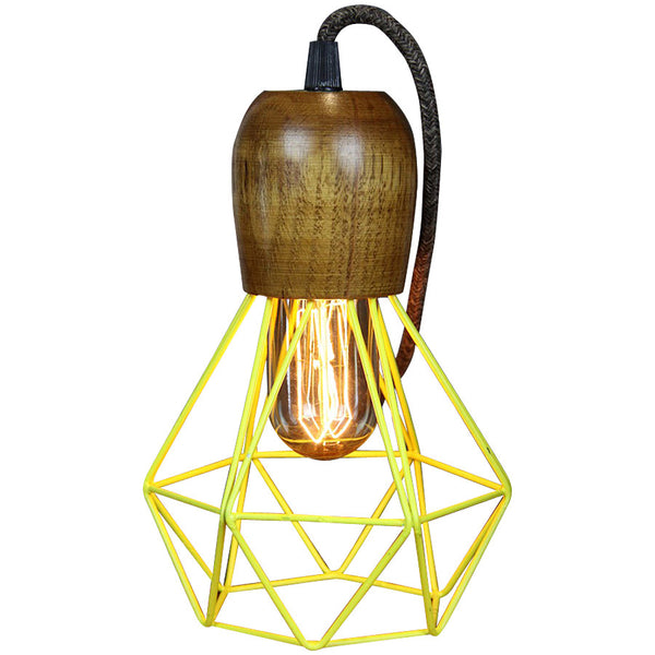 Woodsman Pendant - Yellow - Industrial Lighting Studio