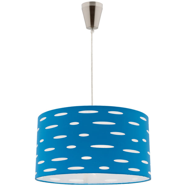 Darcy Pendant Lamp DIY - Blue - Industrial Lighting Studio