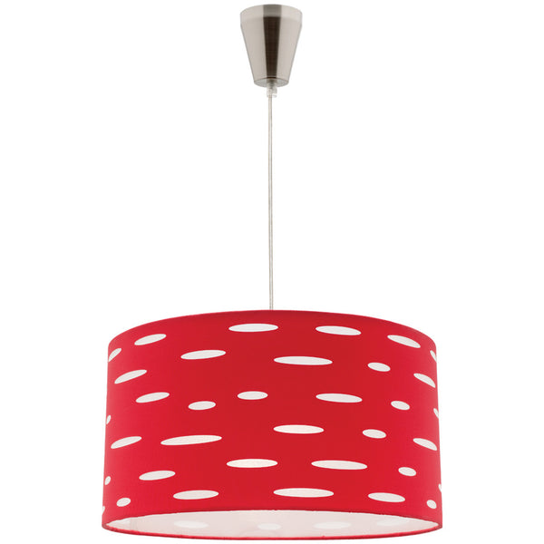 Darcy Pendant Lamp DIY - Red - Industrial Lighting Studio