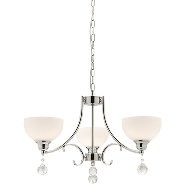 Derwent 3 Lamp Chandelier - Industrial Lighting Studio