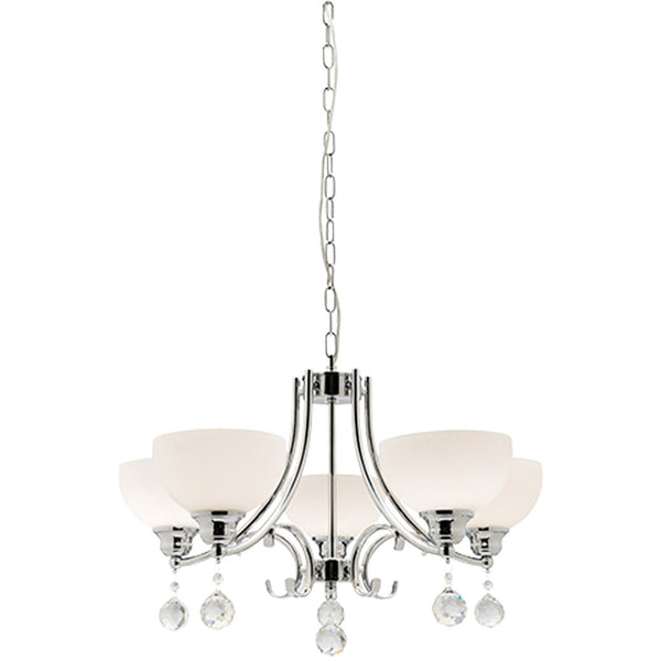 Derwent 5 Lamp Chandelier - Industrial Lighting Studio