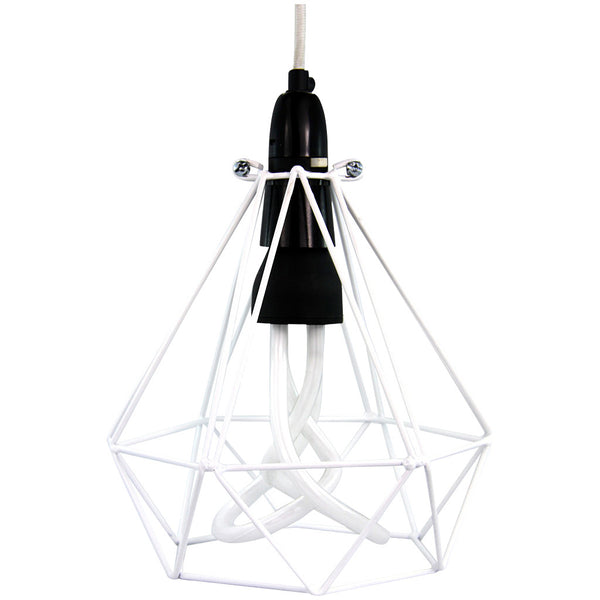 Diamond Pendant - Diamond White - Industrial Lighting Studio - 1
