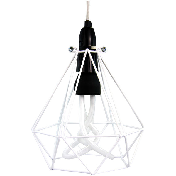 Diamond Pendant - Diamond White - Industrial Lighting Studio - 2
