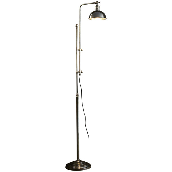 Michigan Floor Lamp - Silver - Industrial Lighting Studio