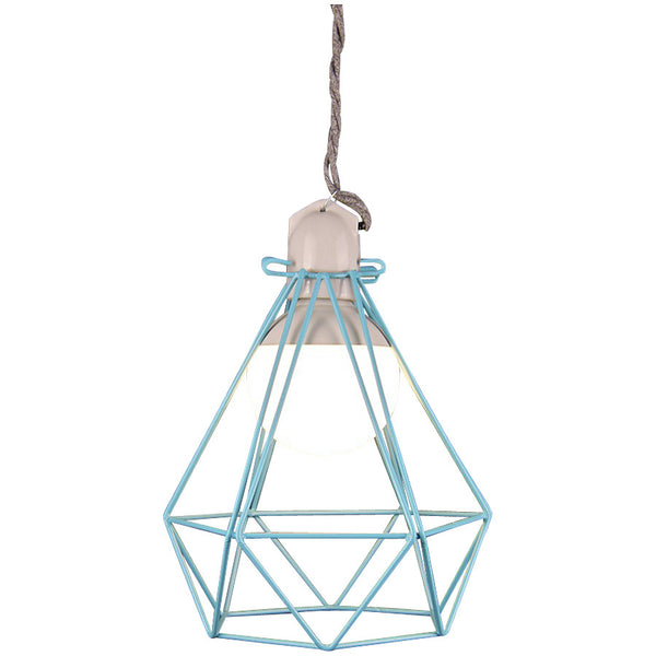 Diamond Pendant Modern Dandy - Oscar Wilde - Industrial Lighting Studio - 2
