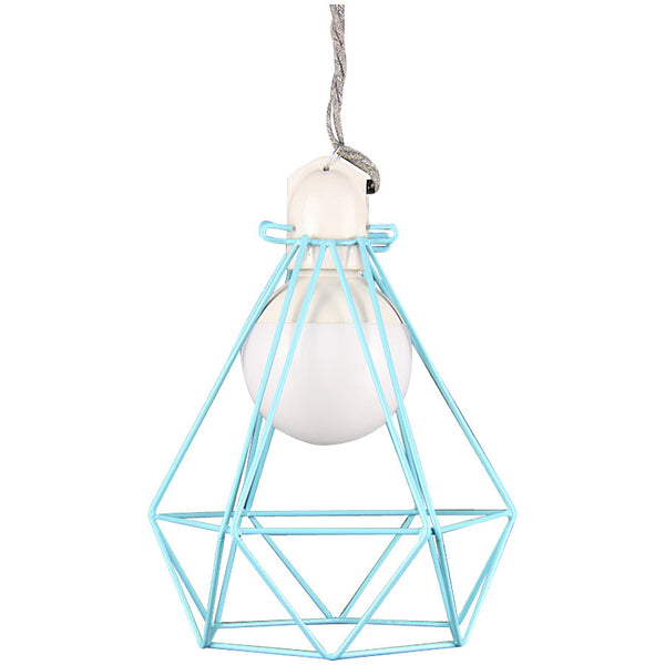 Diamond Pendant Modern Dandy - Oscar Wilde - Industrial Lighting Studio - 1