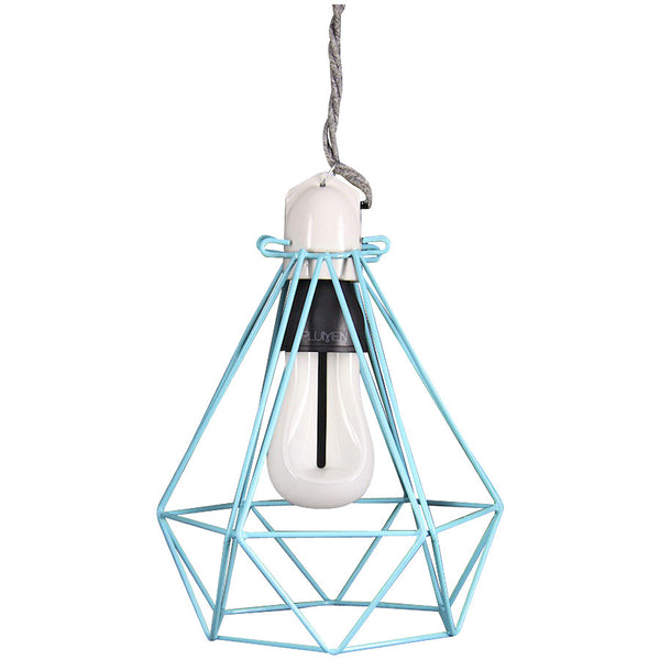 Diamond Pendant Modern Dandy - Oscar Wilde - Industrial Lighting Studio - 5