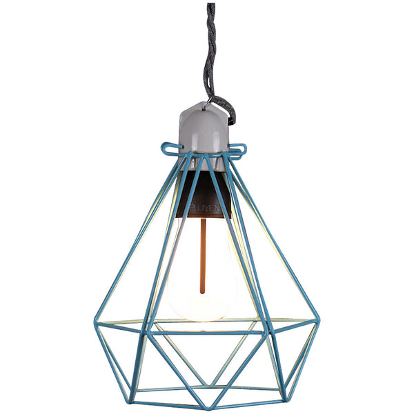 Diamond Pendant Modern Dandy - Oscar Wilde - Industrial Lighting Studio - 6