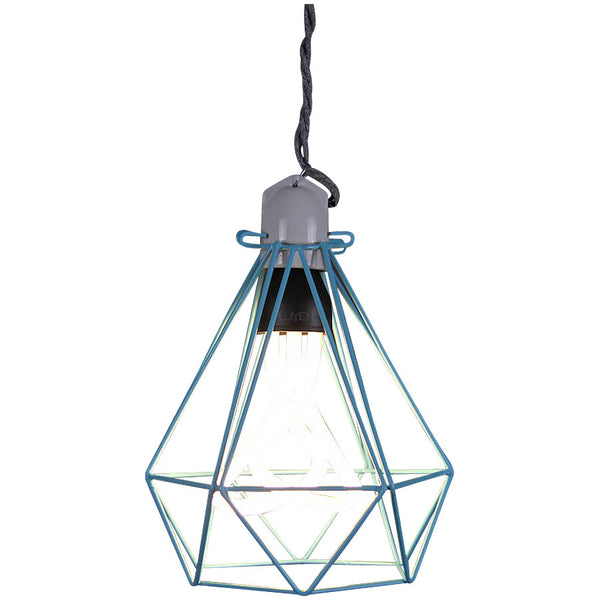 Diamond Pendant Modern Dandy - Oscar Wilde - Industrial Lighting Studio - 7
